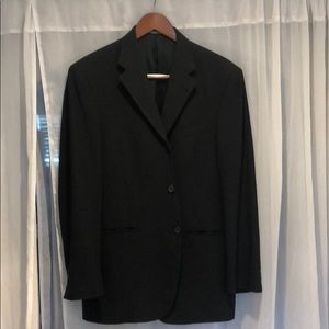 Sleek simple black blazer feom Kenneth Cole